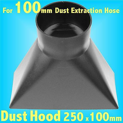 YShaped Dust Hood for 100mm Dust Extraction Charnwood SIP Record extractor DH250