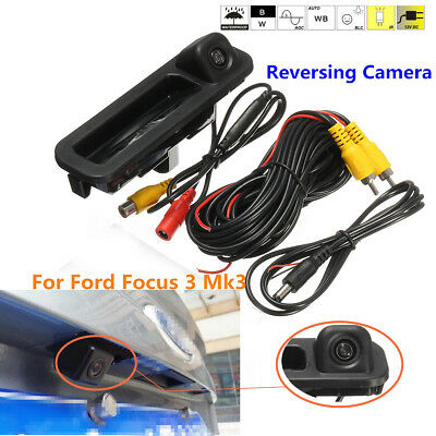 Car Rear View Reverse Parking Camera Night Vision 170° For Ford Focus 3 Mk3 2014