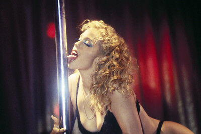 Elizabeth Berkley Sexy Licking Dance Pole In Black Bra Showgirls 24X36 Poster