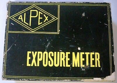 Alpex Exposure Meter + Booster, in Original Box with Instructions