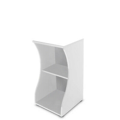 Fluval Flex 57L White Cabinet - Stylish Curved Aquarium Stand (CABINET ONLY)