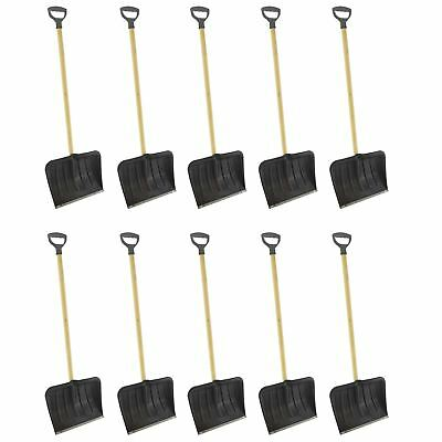 10 Long Handle Snow Leaf Shovel Scoop Remover Removal Clearer Clearing
