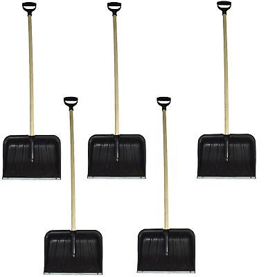 5 Long Handle Snow Leaf Grass Shovel Scoop Remover Removal Clearer Clearing