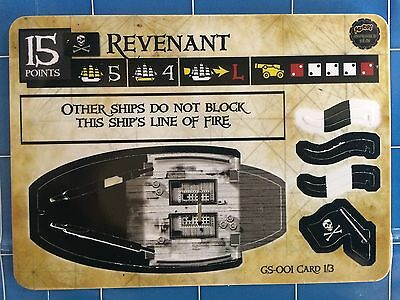 Pirates of the Spanish Main - Revenant GS-001 Ghostly