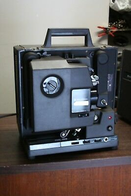 Bell & Howell 2592 16mm film projector operates but sold As-Is Needs Adj/Lube