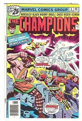 CHAMPIONS #6 (6/76)--GDVG / Isabella-scr, George Tuska-art, Jack Kirby-cover^