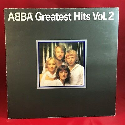 ABBA Greatest Hits Vol. 2 1979 UK Vinyl LP + INNER EXCELLENT CONDITION volume b
