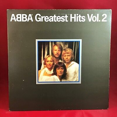 ABBA Greatest Hits Vol. 2 1979 UK Vinyl LP + INNER EXCELLENT CONDITION volume c