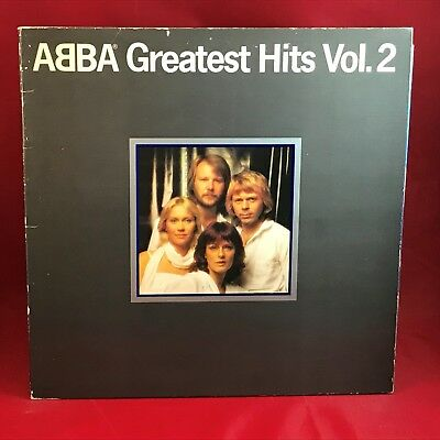 ABBA Greatest Hits Vol. 2 1979 UK Vinyl LP + INNER EXCELLENT CONDITION volume d