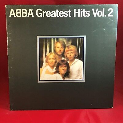 ABBA Greatest Hits Vol. 2 1979 UK Vinyl LP + INNER EXCELLENT CONDITION volume g