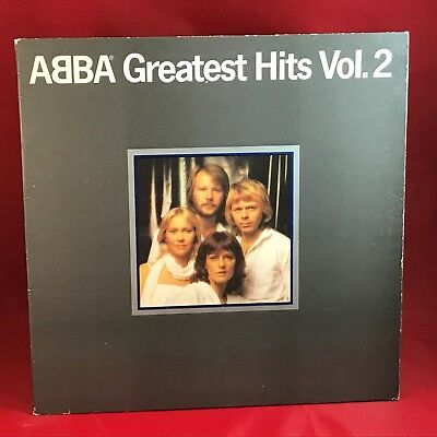 ABBA Greatest Hits Vol. 2 1979 UK Vinyl LP + INNER EXCELLENT CONDITION volume f