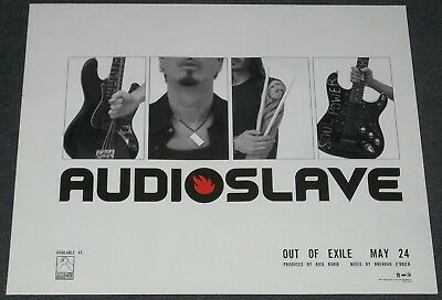 Audioslave 2005 Out Of Exile ad 9 x 11 advertisement Chris Cornell + RATM