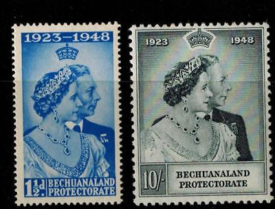 Bechuanaland Protectorate 1948 Silver Wedding Mint Never Hinged