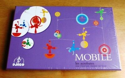 """Delightful Djeco Mobile """"The Acrobats"""" – New And Sealed"""