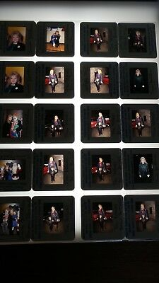 Tina Yothers W/ Celebrities Vintage Lot Of 35Mm Slide Transparency Photo #4