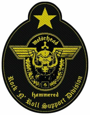 Motorhead - Support Division Cut-out Patch