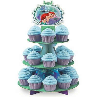 Disney Princess Ariel The Little Mermaid Wilton Birthday Cupcake Stand Holder