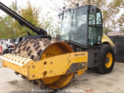2012 Volvo SD-100D Pad Foot Single Drum Vibratory Roller Compactor -Repair