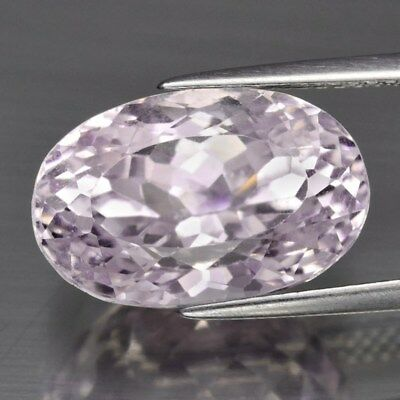 Ravishing! 10.09ct 15x9.6mm Oval Natural Untreated Pink Kunzite