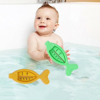 Water Thermometer Baby Bathing Fish Shape Temperature Infant Toddler Shower Toy