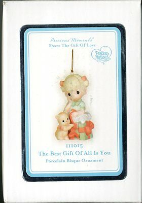 2011 Precious Moments The Best Gift Of All Is You NIB Girl Ornament  111015