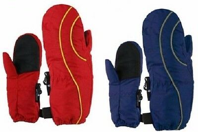 Toddlers Boys Child Ski Winter Mittens One Size  Waterproof 2-4 Years NWT #31150