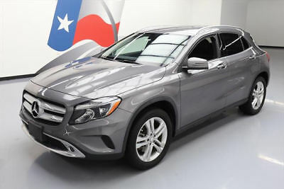 2015 Mercedes-Benz GLA-Class Base Sport Utility 4-Door 2015 MERCEDES-BENZ GLA250 TURBO HTD SEATS REAR CAM 27K #128978 Texas Direct Auto