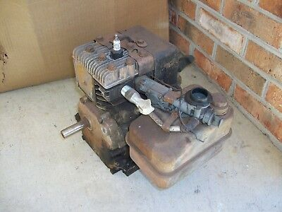 Vintage 3hp briggs stratton horizontal side shaft engine for Briggs and stratton motor locked up