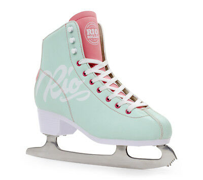 Rio roller inscription Figure PATIN A GLACE - Teal / Rose