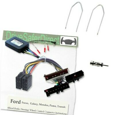 SWC-2090-n Steering Wheel Control Kit for ISO Radio/Ford Mondeo Mk3 00-03