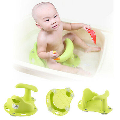 Baby Bath Tub Ring Seat Infant Child Toddler Kids Anti Slip Safety Chair EH