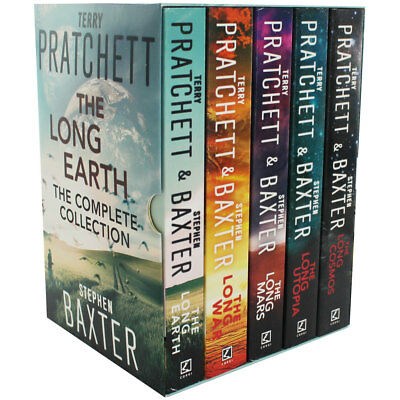 The Long Earth - 5 Book Collection (Paperback), Collections, Brand New