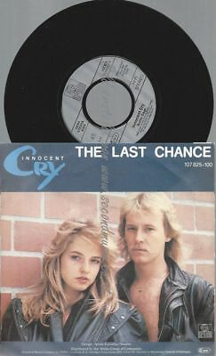 "7""  Innocent Cry ‎– The Last Chance"