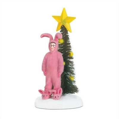 Dept 56 A Christmas Story Pink Nightmare Bunny Suit BRAND NEW Free Shipping