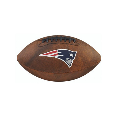 NFL Football New England Patriots throwback Spielball Wilson Junior size