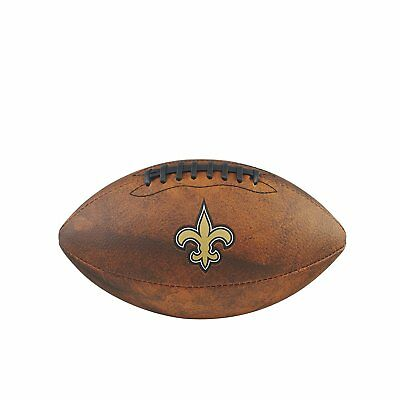 NFL Football New Orleans Saints throwback Spielball Wilson Junior size