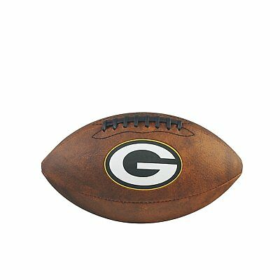 NFL Football Green Bay Packers throwback Spielball Wilson Junior size