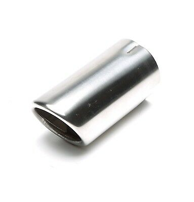 TA TECHNIX End pipe Stainless Steel Universal 2 3/8x2 11/16in Oval /Flanged/