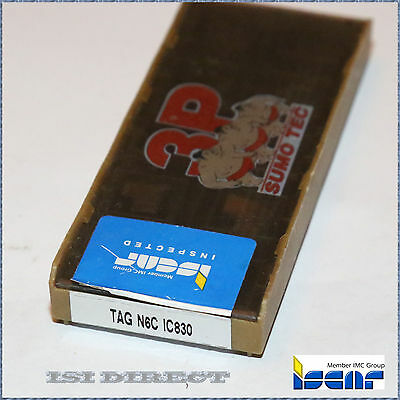 Tag N6C Ic830 Iscar *** 2 Inserts *** Factory Pack ***