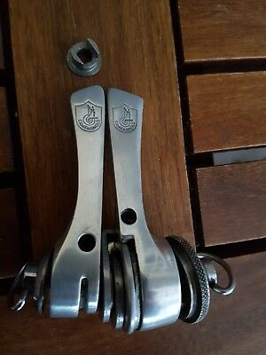 NO RESERVE Campagnolo C RECORD download shifters Syncro manettini Colnago, VVGC