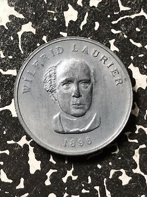 1896 Canada Wilfrid Laurier Medal 34mm Lot#X2650