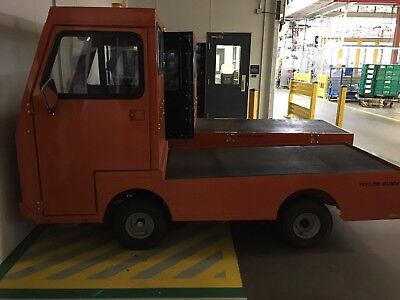 Taylor Dunn B248 Flatbed Utility Cart Burden Carrier, Only 99 HOURS, Perfect
