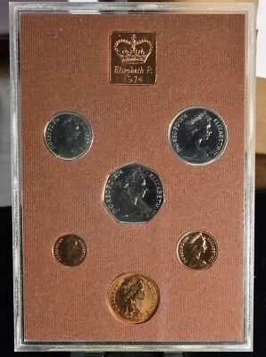 1974 Great Britain 6 Coin Proof Set