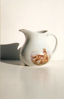 Irish Setter Small Jug Pitcher with Goldtone Trim Made in England LAST ONE!