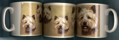 ONE Cairn Terrier Mug New Never Been Used Made in the UKl