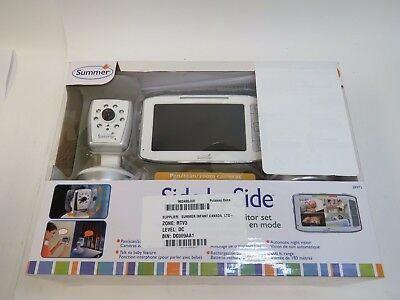 "Summer Infant Side By Side Split-Screen 5"" Video Baby Monitor (28973)"