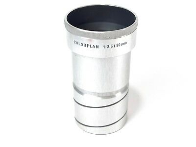 Leitz Wetzlar Colorplan 90mm f2.5 Projection Lens- Adaptable for use with DSLR's
