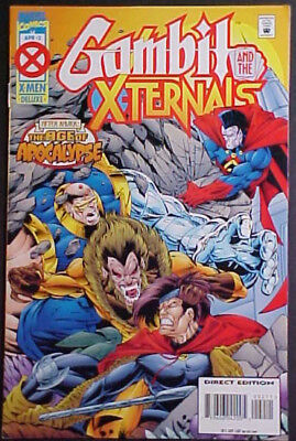 Gambit And The X-Ternals #2+3! The Age Of Apocalypse! 1995 Marvel Comics