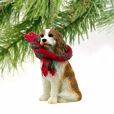 Cavalier King Charles Blenheim Dog Tiny One Miniature Christmas Holiday ORNAMENT