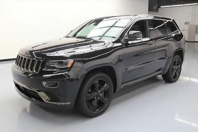 2015 Jeep Grand Cherokee Overland Sport Utility 4-Door 2015 JEEP GRAND CHEROKEE HIGH ALTITUDE 4X4 PANO NAV 42K #112753 Texas Direct